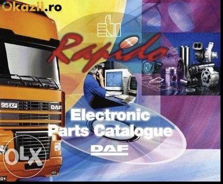 DAF Rapido - catalog de piese originale DAF
