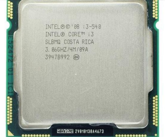 Процессор core i3 540 и кулер медный сокет 1156