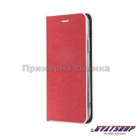 Калъф Luna Book Silver за Huawei P40 Lite E,червен