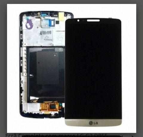 Display LG G3 negru, gold