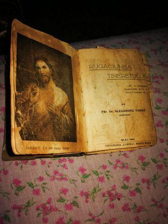 Carte rugăciune veche.
