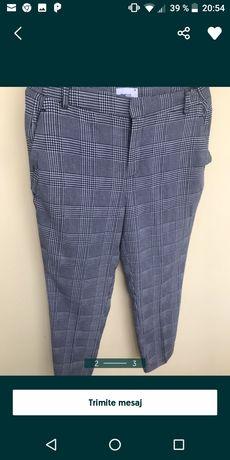 Pantalon in carouri