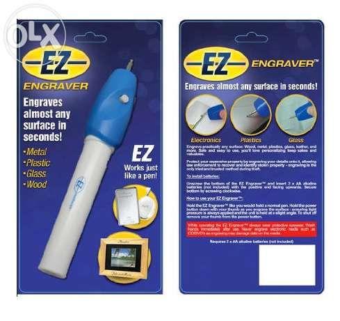 Гравиращ уред - EZ ENGRAVER - Дърво, Метали, Пластмаса и Др. Повърхнос