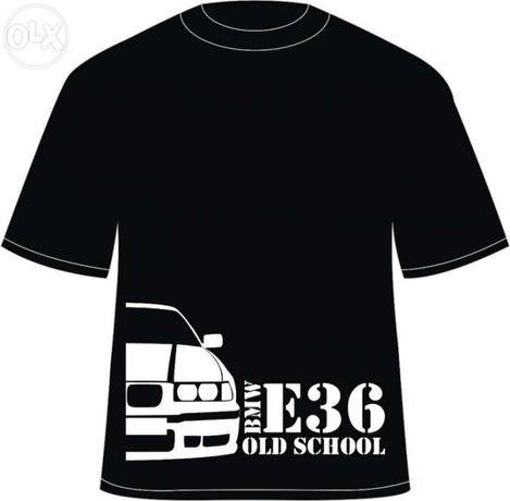 """Tricou personalizat """"BMW E36 Old School"""""""