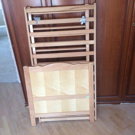Продам детскую деревянную кроватку трансформер