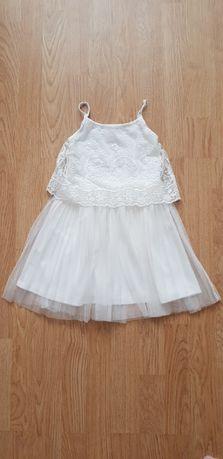 Бяла рокля на HM