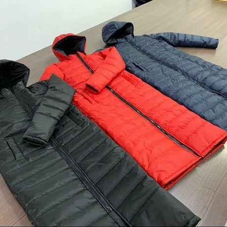 Куртки длинные димисезоный