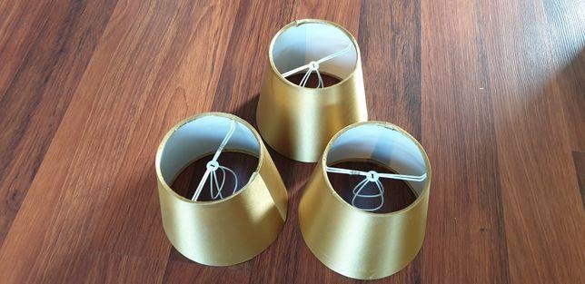 3 abajur clip on pentru becuri mici ovale
