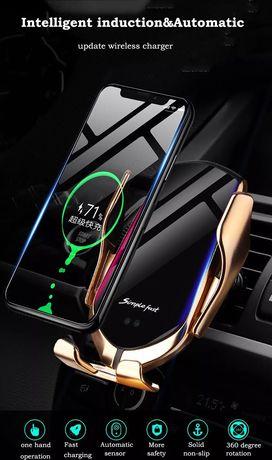 Безжично зарядно устройство , стойка за кола