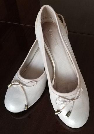 Дамски официални обувки, естествена кожа, 38 номер