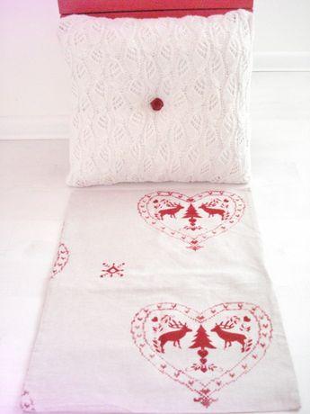 Декоративна възглавница + коледна калъфка