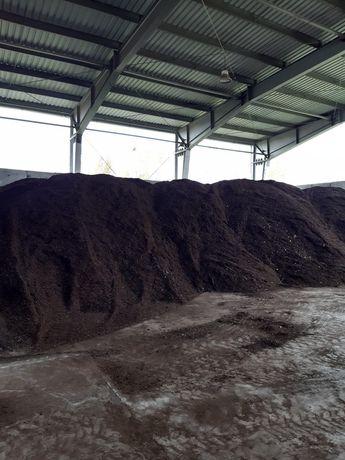Compost si lemn tocat