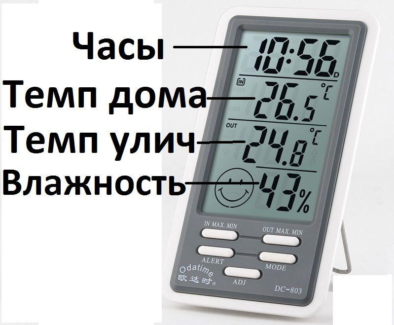 Климат прибор-гигрометр для дома. Доставка