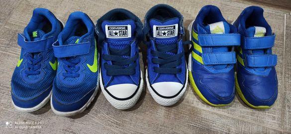 Детски маратонки Nike Adidas Converse 27 28 номер