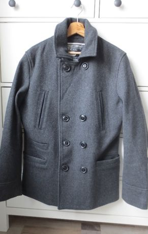 SUPERDRY мъжко вълнено палто L размер