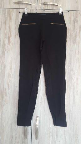 Черен дамски слим панталон S размер