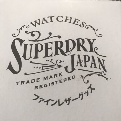 Superdry часовник НОВ