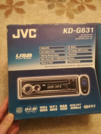 CDplayer auto MP3 marca JVC
