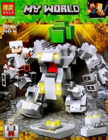 Конструктор Bela Minecraft 11135 Робот Титан купить в Алматы