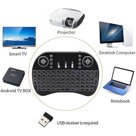 Tastatura Smart TV wireless cu touch pad