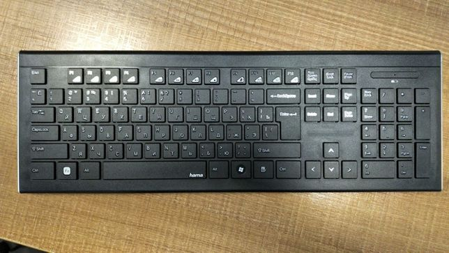 Tastatura Wireless HAMA Cortino R9134959, USB, negru