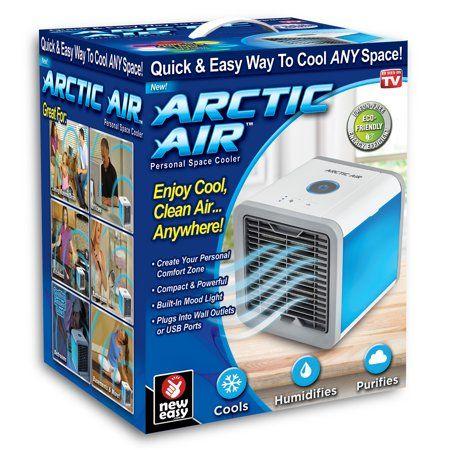 НОВ ТВ ХИТ мини климатик пречиствател овлажнител на въздуха air cooler