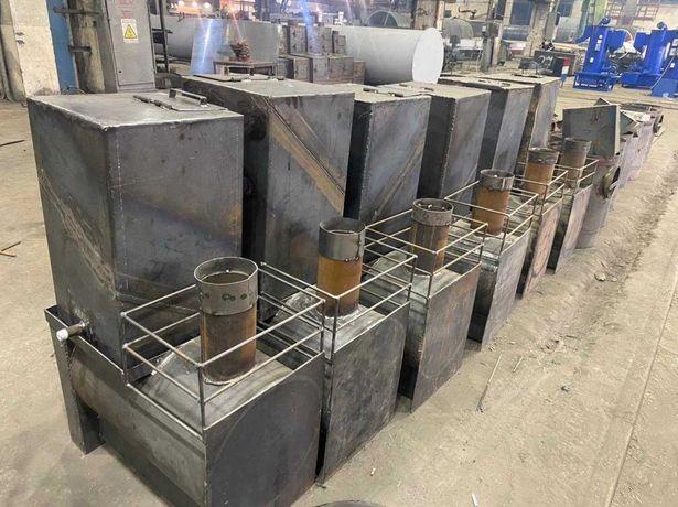 Банная печка квадратная (от завода изготовителя)