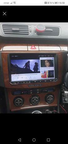 """Navigatie GPS android ecran 9"""" inch skoda, vw, seat"""