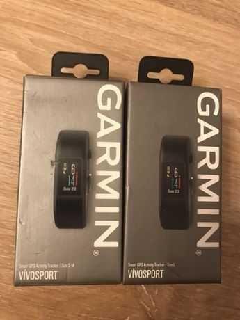 Bratara fitness Garmin Vivosport, GPS, Small/Medium, Negru/Gri NOU