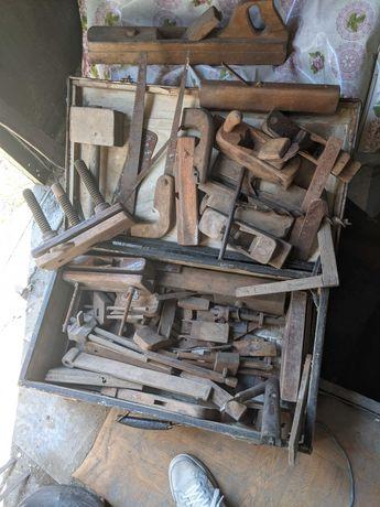Продам набор инструментов по дереву Советских времен