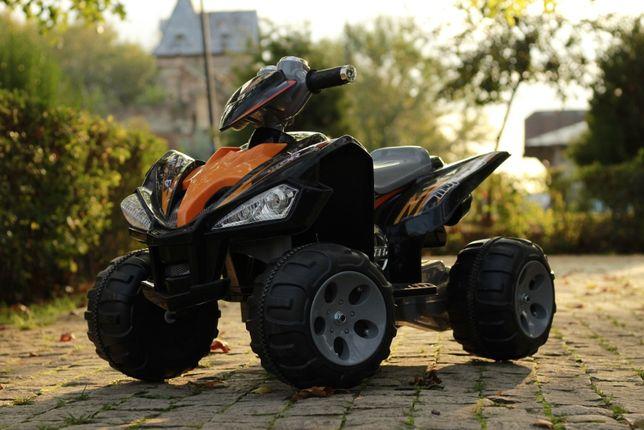 Mini ATV electric pentru copii Kinderauto JS007 2x35W 12V #Black