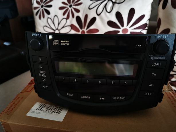 Radio/CD MP3 cu Bluetooth Toyota Rav 4 Original