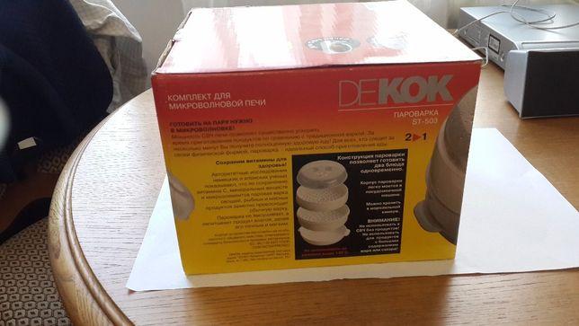 Новая пароварка Декок для микроволновки