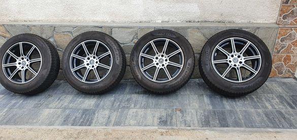 Джанти 19 Мерцедес МЛ със зимни гуми