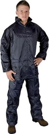 Costum ploaie impermeabil bleumarin sport moto vanatoare pescuit