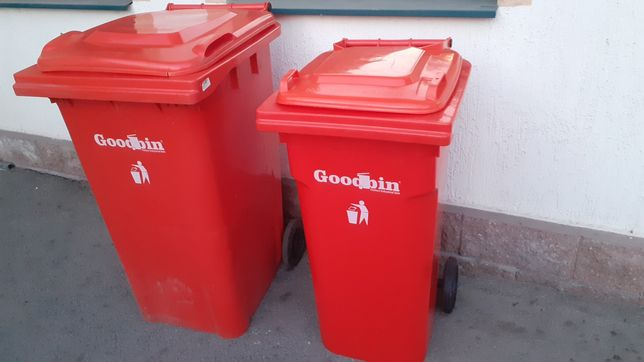 Пластиковый мусорный бак 100 л и больше