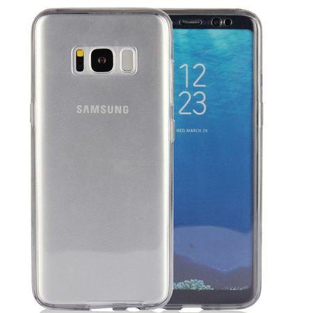Capac de protectie Full TPU 360° (fata + spate) Samsung Galaxy S8 Plus