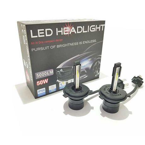 ПРОМО LED Крушки за фарове 6000k H1 H3 H4 H7