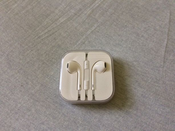 casti apple earpods originale, jack 3.5 mm