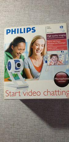 Camera video Philips + microfon Trust MC 3200 - LIVRARE GRATUITA!