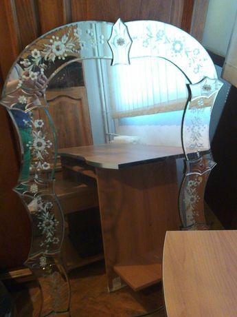Oglinda cristal venetiana 70 × 120 cm