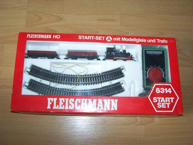 Set start trenulet electric Fleischmann scara HO, macheta feroviara