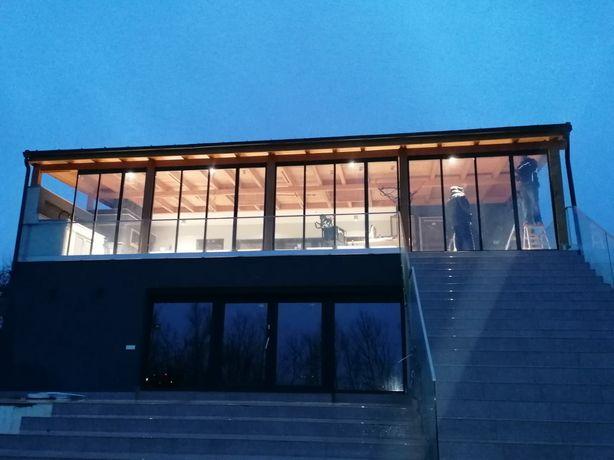 INCHIDERE terasa sticla glisanta securizata geam termopan