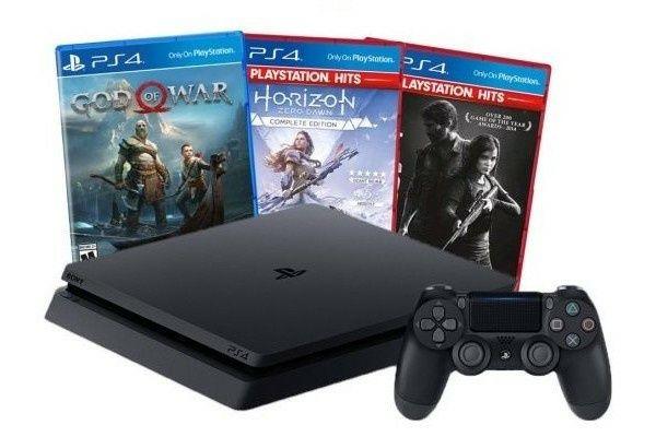Sony Playstation 4 Slim 1000гб как новый игры в подарок
