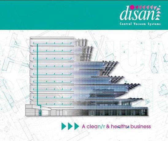 Disan серия DS за професионално използване над 2000м2