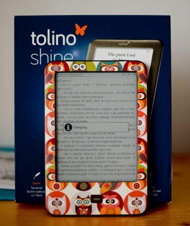 Ebook reader Tolino GLO - se vinde cu GARANTIE - factura + CADOU