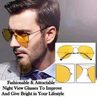 ХИТ Слънчеви очила за нощно шофиране мъжки дамски rayban
