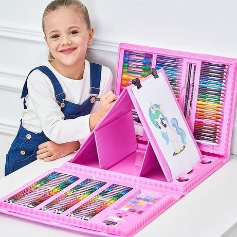 Набор юного художника! Детский набор! Подарок! Хит! Доставка!Мольберт!
