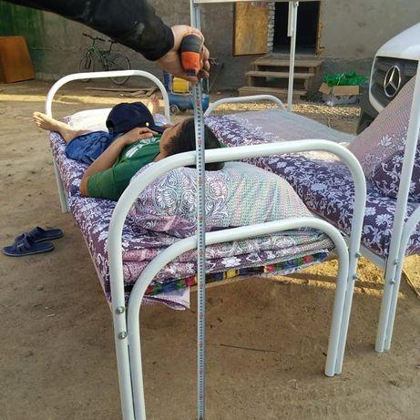 Одноярусные кровати больница армейская
