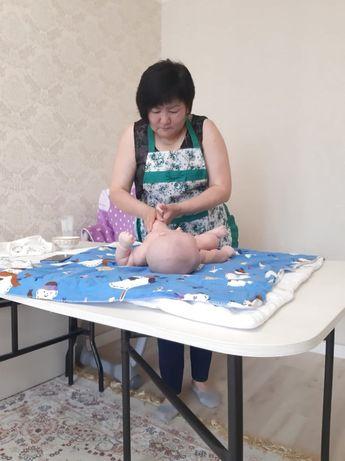Профессиональный детский массаж с выездом на дом, 2 500 тенге